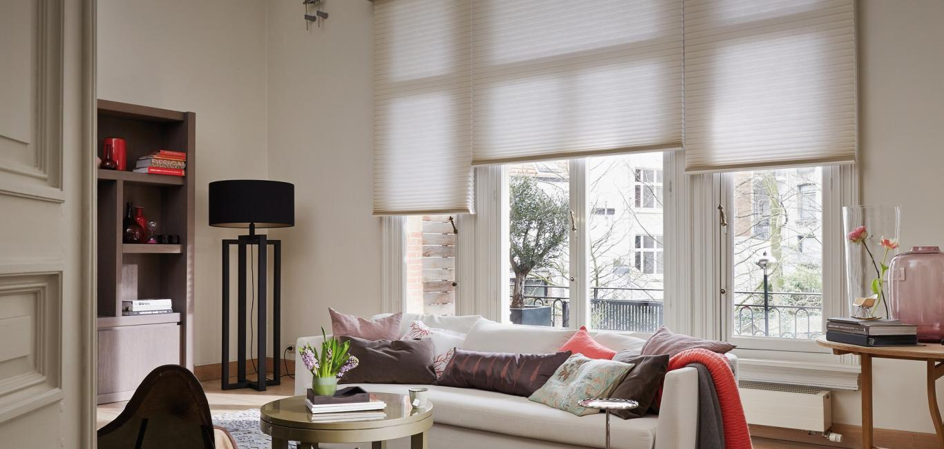 Cortina Duette® - Hunter Douglas -  Living (sala)