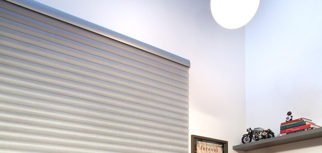 Cortina SoftCell Hunter Douglas -  Dormitório (quarto)